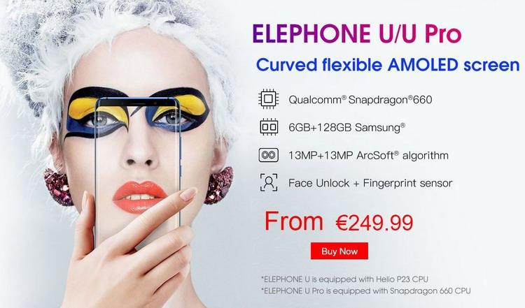 Elephone U и U Pro