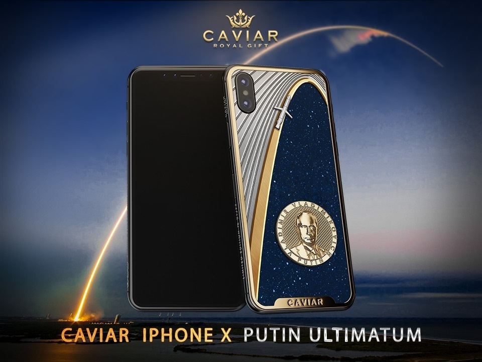 Caviar iPhone X Putin Ultimatum