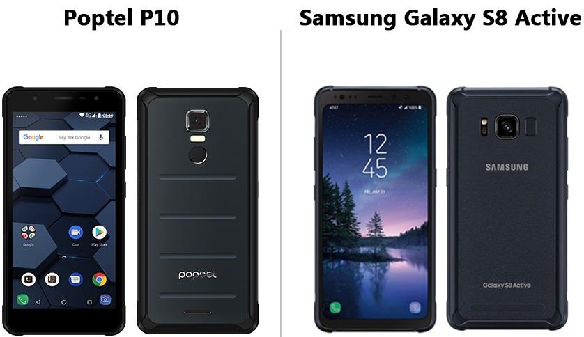 Бронированный смартфон Poptel P10 протестирован в AnTuTu