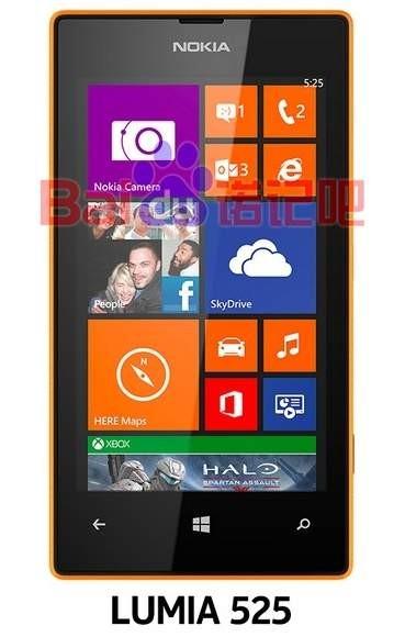 Музыкальный смартфон Nokia Lumia 525 на первой «живой» фотографии