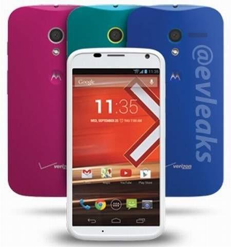 Изображение смартфона Motorola Moto G «утекло» в Сеть