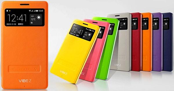 Представлен флагманский смартфон Lenovo Vibe Z