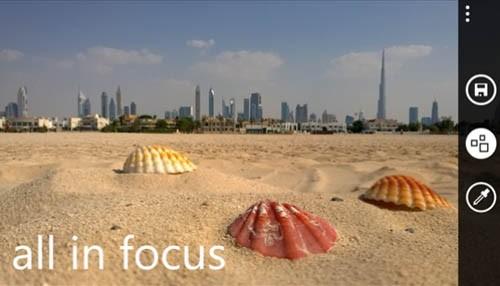 Nokia Refocus – приложение, которое меняет фокусировку любой фотографии