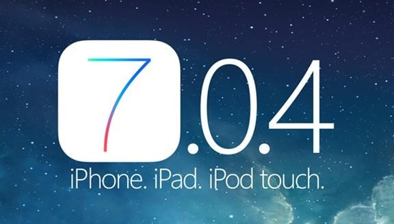 Apple выпустила iOS 7.0.4 с «багом»