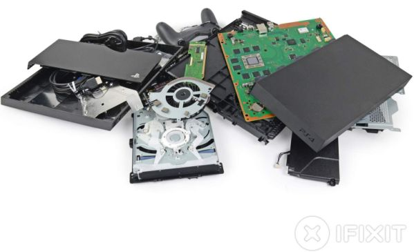 Приставка Sony PlayStation 4 пригодна для ремонта