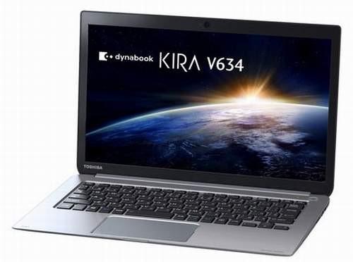 Ультрабук Toshiba Dynabook KIRA V634 проработает весь день без подзарядки