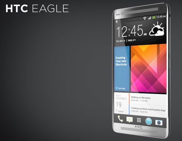 Концепт красивого и крепкого смартфона HTC Eagle