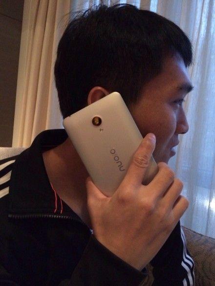 Смартфон ZTE Nubia Z7 предстал на «живом» снимке