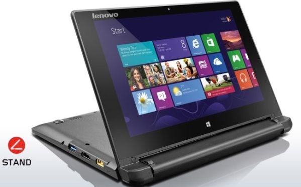 Lenovo выпустила новый ноутбук Flex 10 на платформе Bay Trail