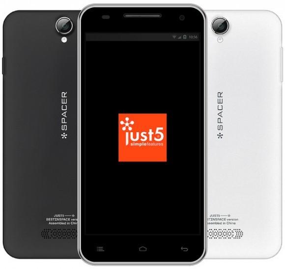 Just5 Spacer – один из самых бюджетных смартфонов с экраном на 5 дюймов