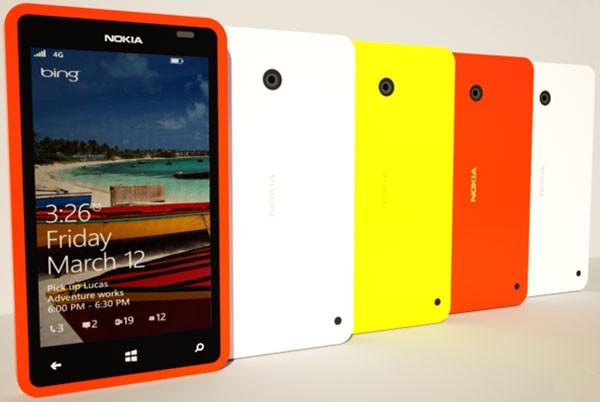 Концепт «самого бюджетного» Nokia Lumia 420