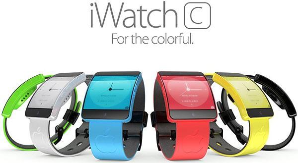 Концепт простых и стильных смарт-часов Apple iWatch C