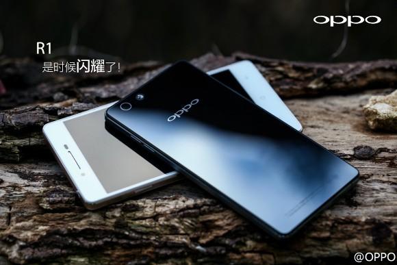 Официально: Oppo R1 получит стеклянный корпус и светосильную камеру