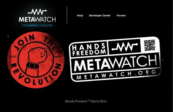 Фрэнк Нуово покажет собственные часы MetaWatch в начале 2014 года