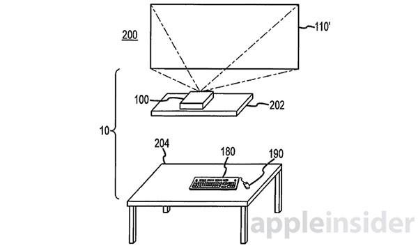 Apple патентует «свободный» компьютер