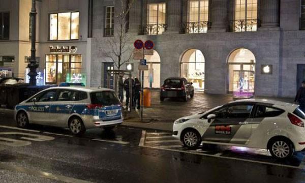 В Берлине ограблен магазин Apple Store