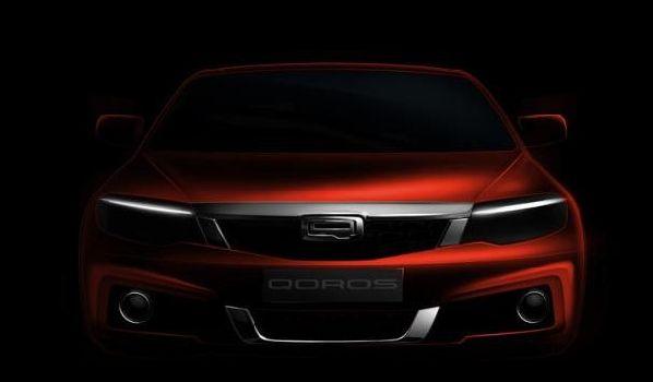 Qoros покажет свой второй серийный автомобиль в Женеве