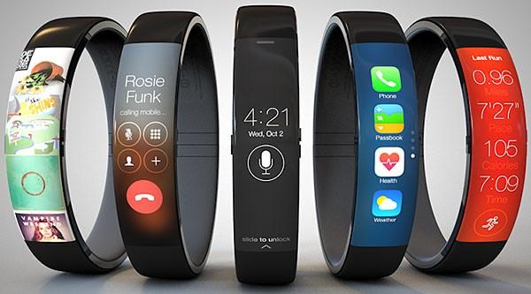 Концепт Apple iWatch: не часы, а браслет