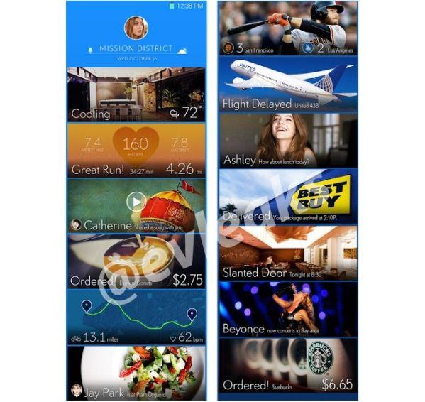 Опубликованы первые скриншоты интерфейса Galaxy S5 от Samsung