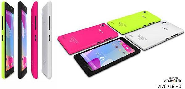 Представлен недорогой смартфон BLU Vivo 4.8 HD
