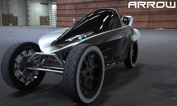Arrow: ультракомпактный электромобиль-тандем