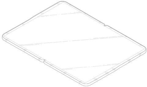 Samsung патентует складной планшетный компьютер