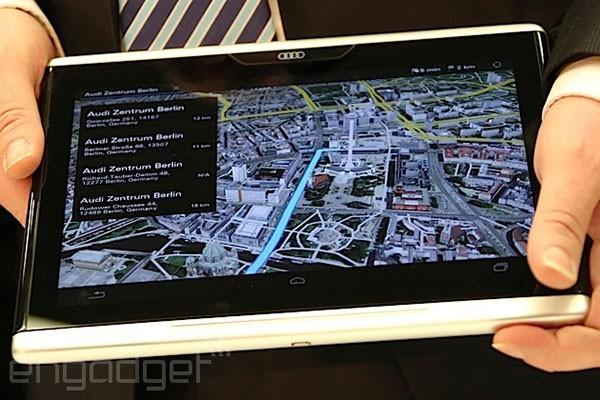 CES 2014: Audi представила 10,2-дюймовый автомобильный планшет Smart Display
