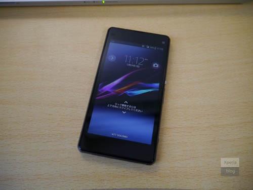 Sony Xperia Z1 Compact останется без надписи «Sony» на корпусе