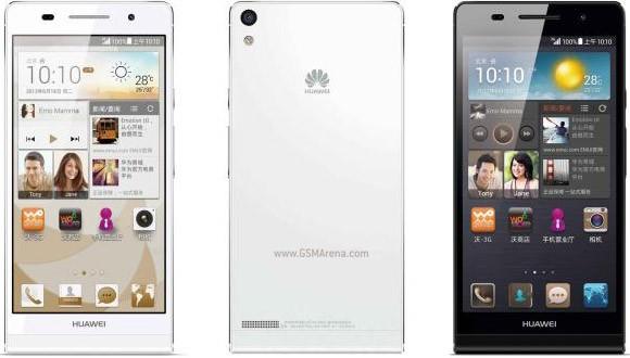 Huawei представила смартфон Ascend P6 S