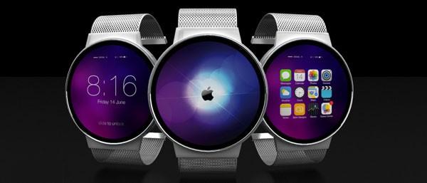 Яркий концепт смарт-часов Apple iWatch
