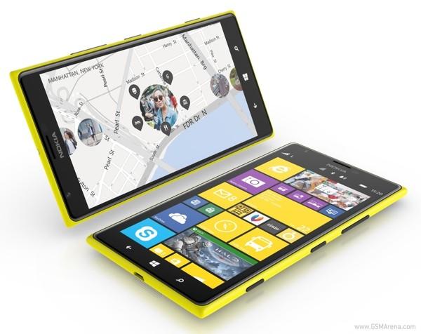 Nokia обновила прошивку Lumia 1520