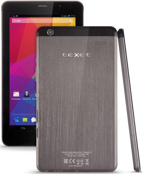 Представлен стильный планшет teXet X-pad STYLE 7.1 3G
