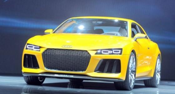 Концепт-кар Audi Sport Quattro выйдет с двумя двигателями