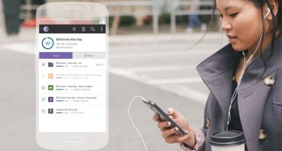 Мобильные приложения BitTorrent теперь поддерживают выбор файлов для скачивания