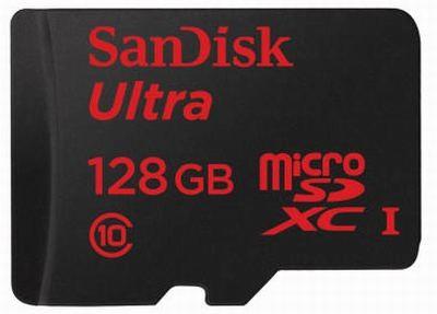 MWC 2014: 128 Гб в одной карте microSDXC от SanDisk