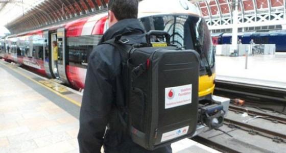 Vodafone уместил базовую станцию в рюкзаке