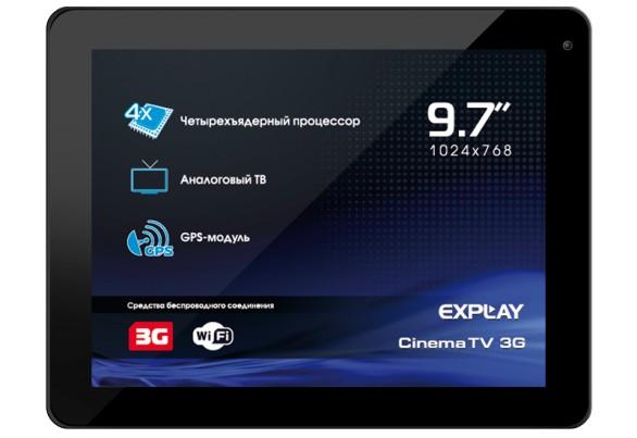 Explay CinemaTV 3G – планшет с телевизором