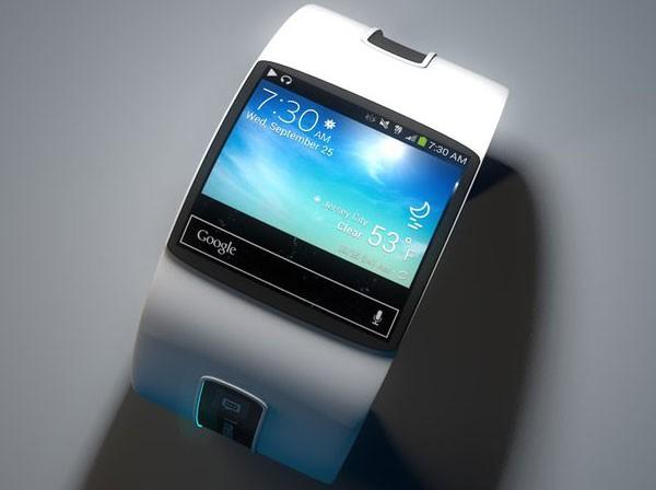 Концепт стильных часов Google Smartwatch