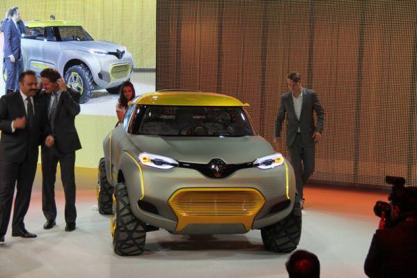 Renault представила оригинальный концепт-кар Kwid