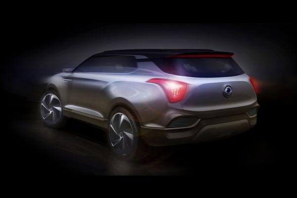 SsangYong покажет концепт-кар XLV в Женеве
