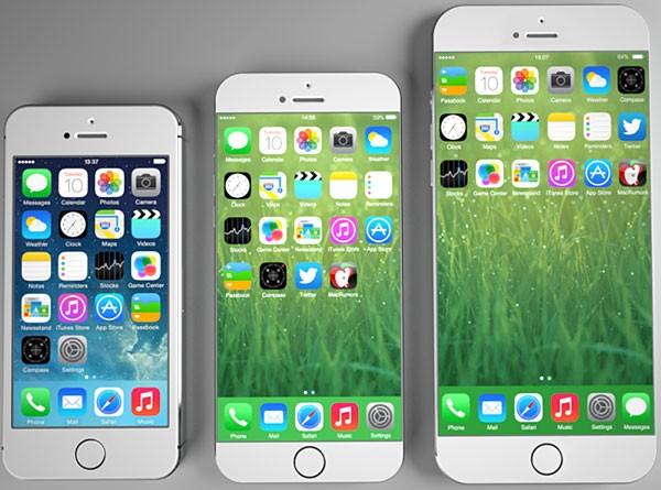 Концепт iPhone 6 с 5,5- и 4,7-дюймовыми дисплеями