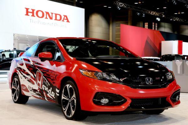 Концепт-кар Honda Civic Si показан в Чикаго