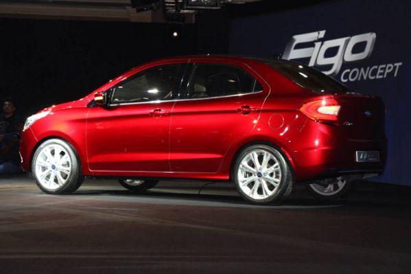 Ford показала концепт-кар Figo для развивающихся стран