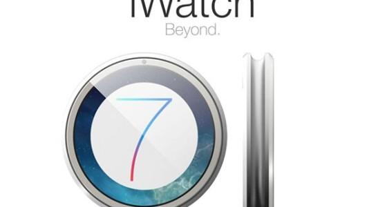 Круглый концепт Apple iWatch