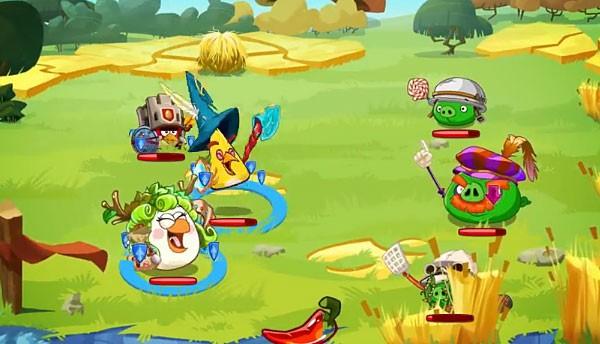 Angry Birds Epic: птички стали «героями»