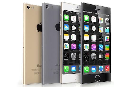 Концепт большого iPhone 6 в стиле iPod nano