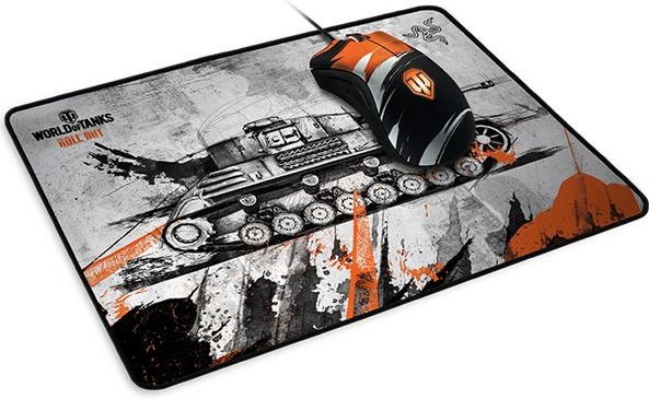 Razer выпустила мышку Goliathus для поклонников World of Tanks