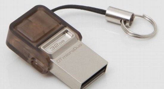 Kingston DataTraveler microDuo – новый формат универсального накопителя