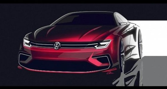 Volkswagen готовит к анонсу концепт Midsize Coupe