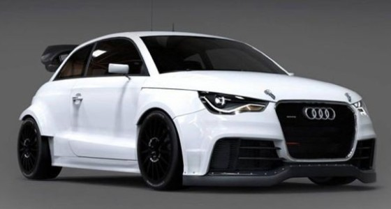 Из Audi S1 сделали настоящий спорткар